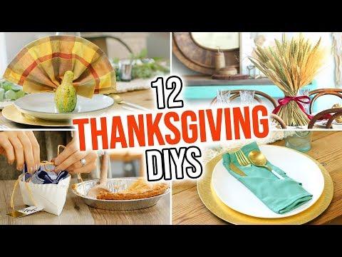 12 Thanksgiving DIY Party Ideas