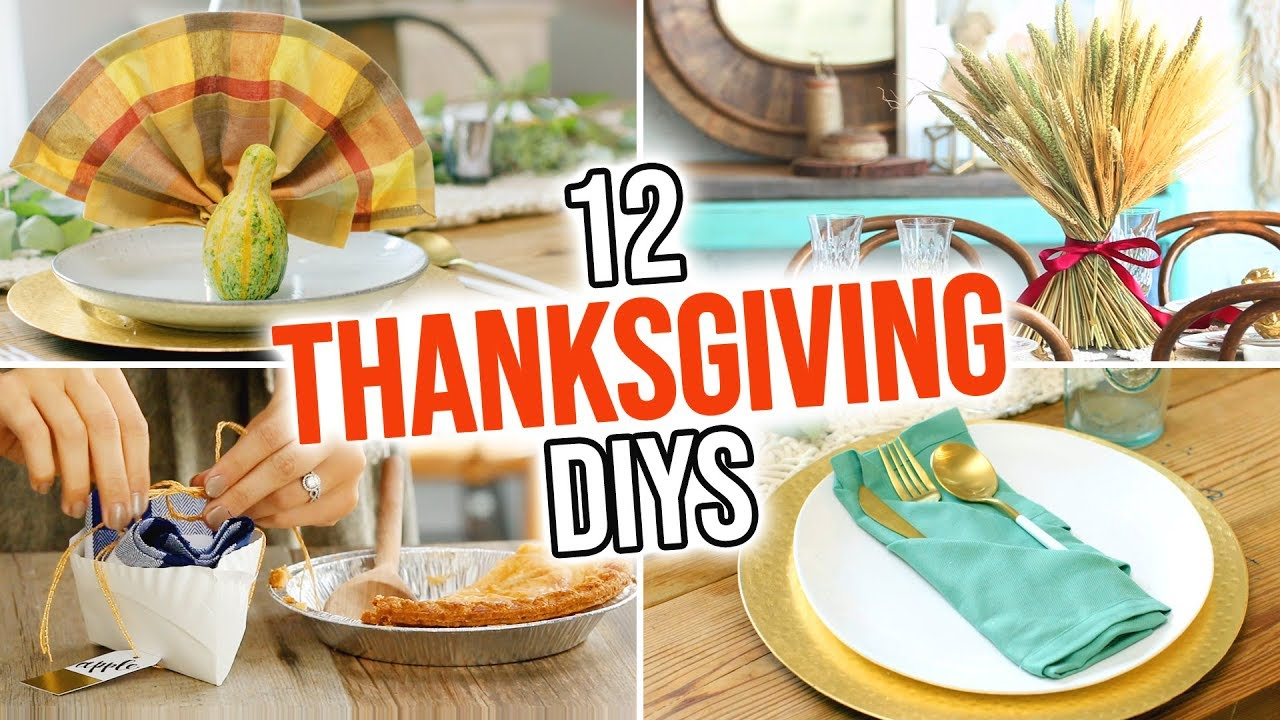 12 Thanksgiving Dinner Party Diy Ideas Hgtv Handmade