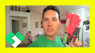 OUR FIRST NERF WAR (5.14.14 - Day 775)