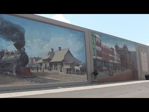 Portsmouth Floodwall Murals. Traveling Around Ohio
