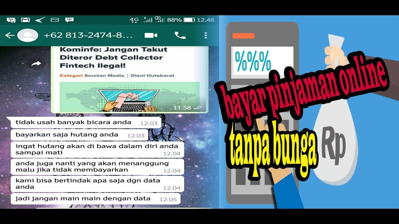 Tips Melunasi Pinjaman Online Tanpa Bunga Youtube