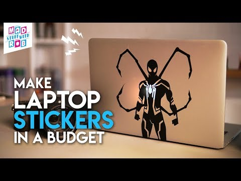 Laptop STICKERS in a BUDGET | In HINDI | SPIDER-MAN: Far from home