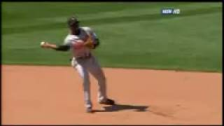 2008 Red Sox: Dustin Pedroia knocks in Sean Casey in with a fielder's choice vs Orioles (7.13.0