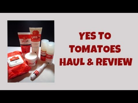 Yes To Tomatoes Haul And Review
