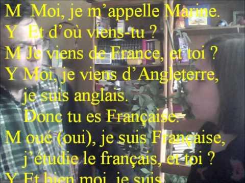 Frasi In Francese Su Se Stessi.Apprendere Il Francese Presentarsi E Rispondere Alle Domande Youtube