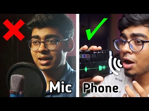 Record your Voice Professionally on Mobile in 2019 | Full Android Tutorial thumbnail