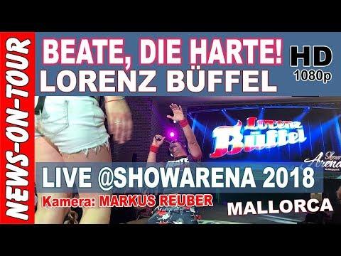 Beate die Harte - Lorenz Büffel   LIVE @Showarena Mallorca Megapark (OFFICIAL NoT VIDEO)