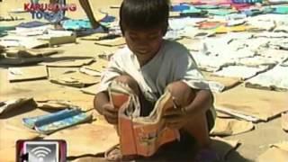 Ilang paaralan na napinsala ng Bagyong Ofel sa Mansalay, Mindoro, tinulungan ng Kapuso Foundation