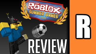 Summer Games 2016 [A ROBLOX Review]