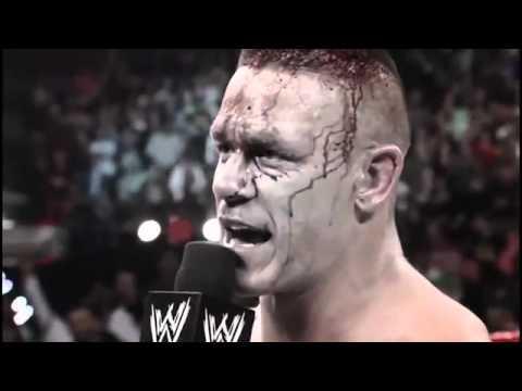 John Cena vs Brock Lesnar Extreme Rules  HD 720p - WWE  2012 - جون سينا -بروك ليسنر