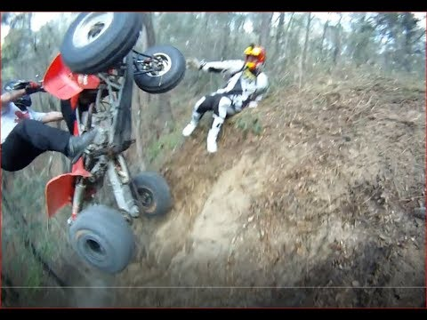 EXTREME ATV CLIMBS AND CRASHES IN THE SOUTH (HILLCLIMB U.S.A.)