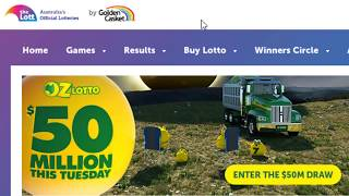 Australia Lotteries guide | Oz lotto | Powerball | Gold lotto | How to play