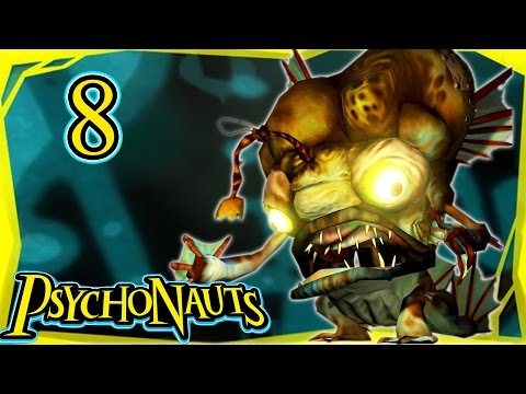 Let's Play Psychonauts Part 8 - Lungfishopolis [Gameplay/Walkthrough]