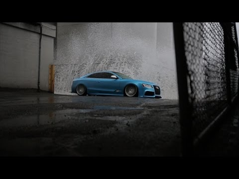 "Drew's Audi S5 ""Papa Smurf"" | Stance Nation"