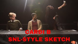 Cardi B Judges Shakespeare Competition-SKETCH