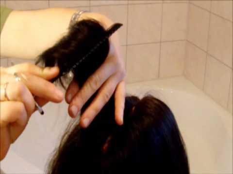 Haare Ausdünnen So Machen Sie Es Zuhause Youtube
