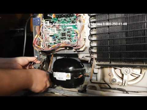Видео Ремонт холодильников samsung