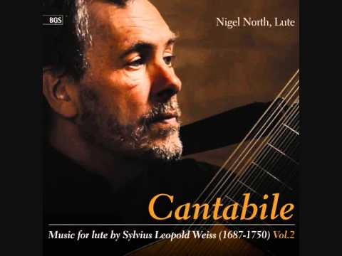 Leopold Weiss Sonata in D major (excerpts), Nigel North, lute