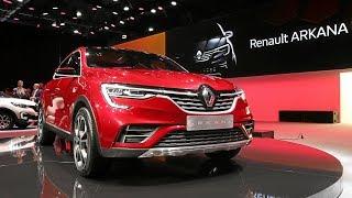Renault Arkana 2018 // За рулем