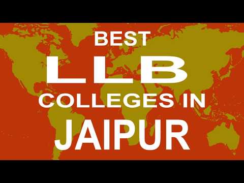 Best LLB Colleges and Courses in Jaipur