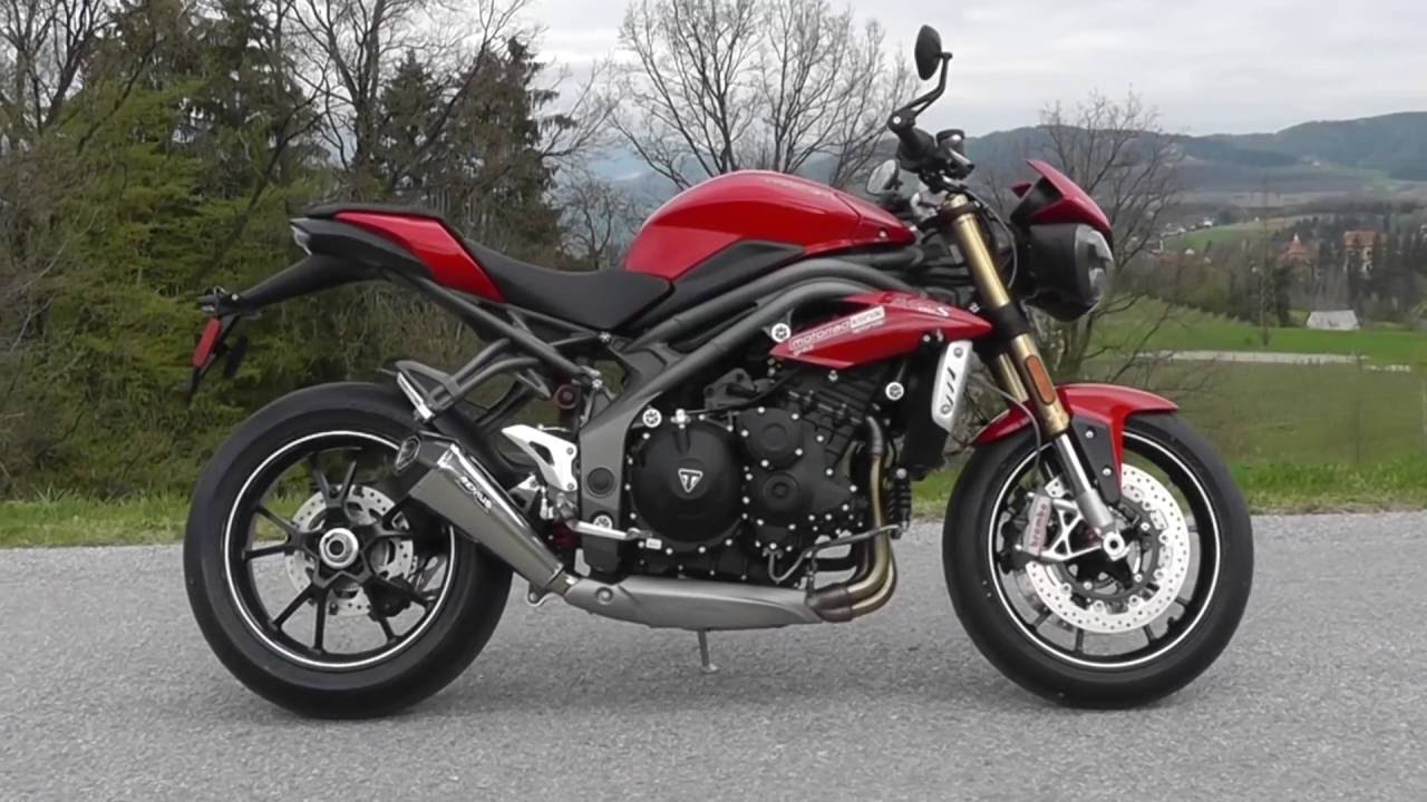 Remus Sound Triumph Speed Triple S 2016