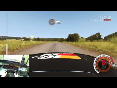 Dirt Rally Avec Logitech MOMO Racing Force Feedback Wheel Part 2