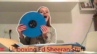 ➗unboxing Ed Sheeran stuff 😍