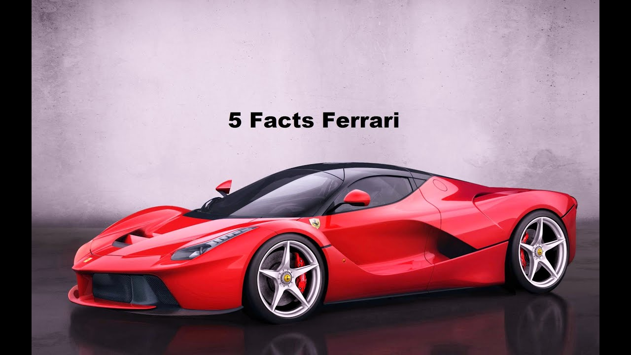 5 Facts about Ferrari you probably didn't know!!! - YouTube