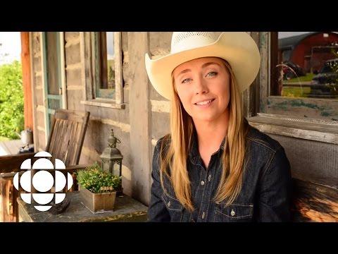 Heartland: Amber Marshall on filming Mallory's farewell   Heartland  CBC