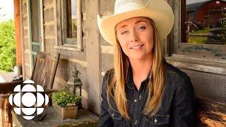 Heartland: Amber Marshall on filming Mallory s farewell scene | Heartland | CBC