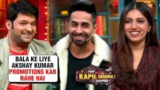 Kapil Sharma BEST COMEDY With Ayushmann, Bhumi, Yami | The Kapil Sharma Show | Bala MOVIE
