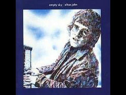 Elton John - Empty Sky (1969) With Lyrics!