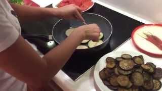 Как пожарить баклажаны без масла/ баклажаны на зиму