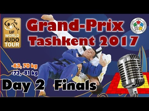 Judo Grand-Prix Tashkent 2017: Day 2 - Final Block