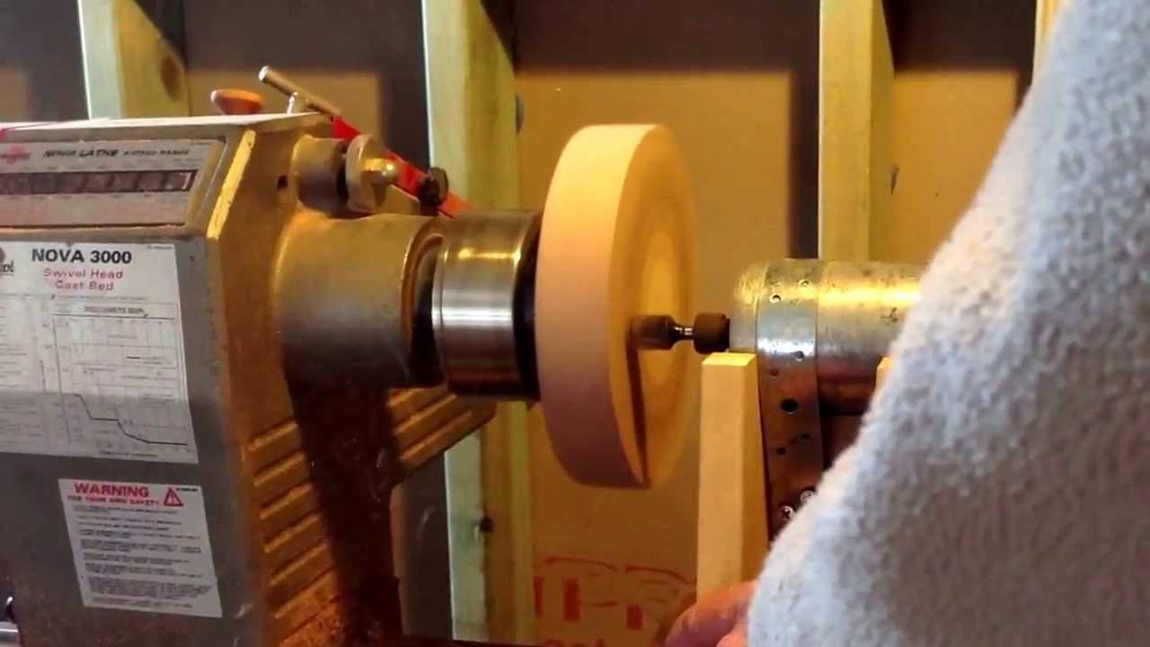 Router Jig for Lathe take 2 - YouTube