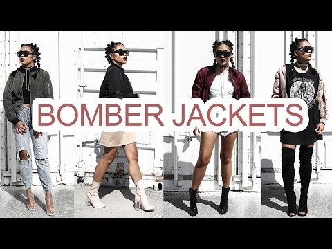 how-to-style-bomber-jacket-8-different-ways-|-lookbook