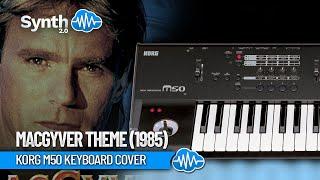 MacGyver theme - melodic metal keyboard by Dvorkys (space4keys keyboard solo)