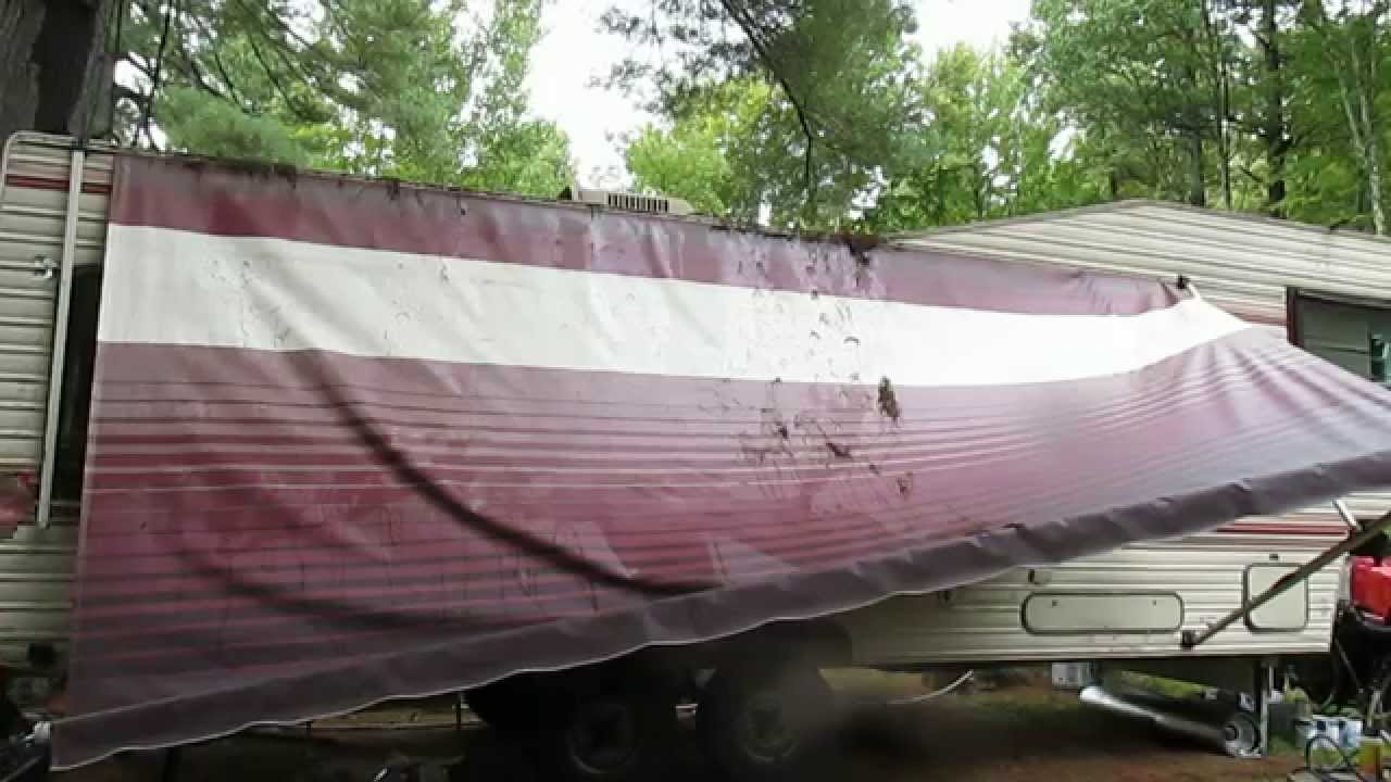Rv Living Awning Repair Youtube