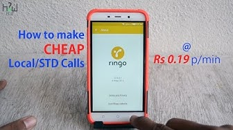 How to make Local/STD Calls At 19 paise/minute ? RINGO APP REVIEW