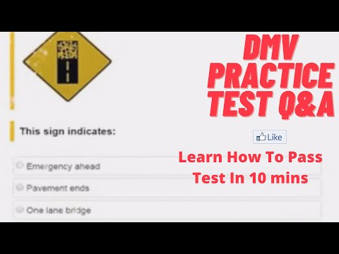 DMV TEST HELP 2017 Actual Written test Paper! Tricky paper must watch