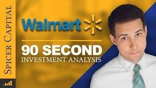 Walmart: 90-second Investment Analysis