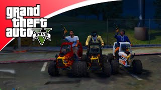 GTA V Freeroam - HOT ROD RACE (GTA 5 online)