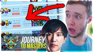 I PLAY TILL I LOSE.. ft. DOUBLELIFT HIMSELF?!? - Journey To Masters #31 S7 - League of Legends