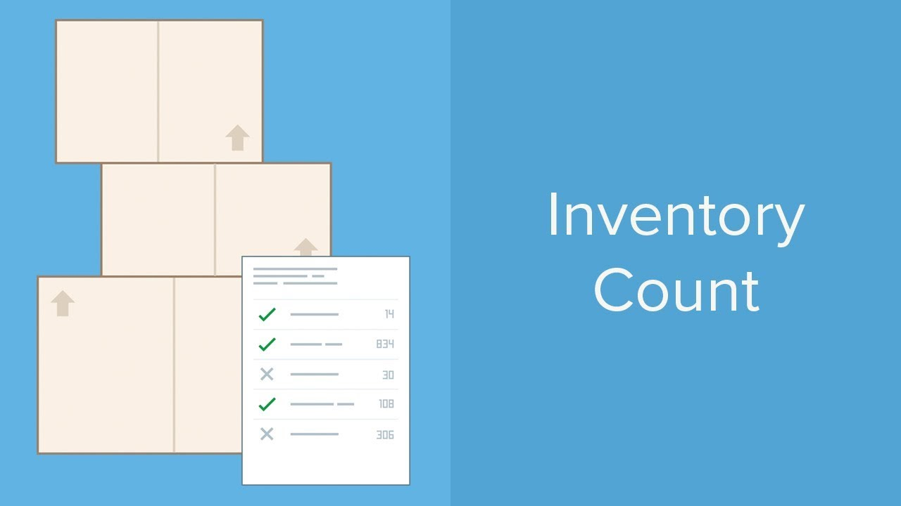 What is an inventory count and how do I complete one? – How