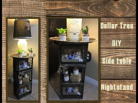 Dollar Tree Diy Side Table Night Stand