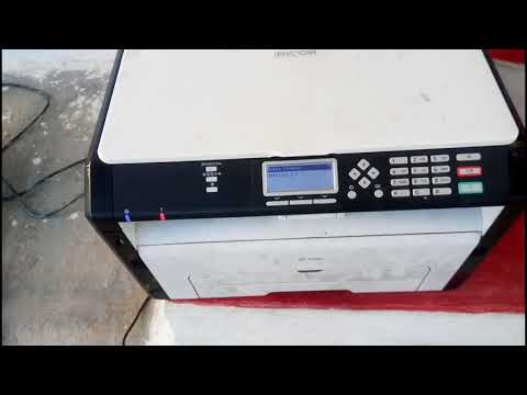 Step by step Firmware Update Ricoh Printers | Firmware Update Ricoh SP210 su Printer