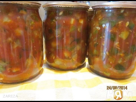 Рецепт необычных салатов на зиму из огурцов