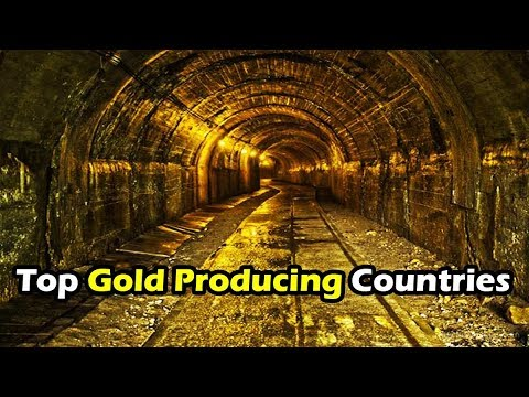 Top 10 Gold Producing Countries In The World   Top10 DotCom