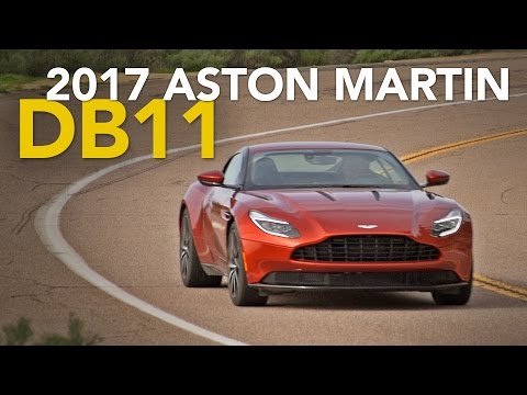 2017 Aston Martin DB11 Review - First Drive