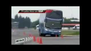 Quebra de Asa com Ônibus da Marcopolo G7